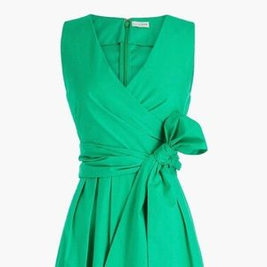 JCrew Factory wrap dress